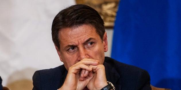 Le premier ministre italien à Caserta le 19 novembre 2018.