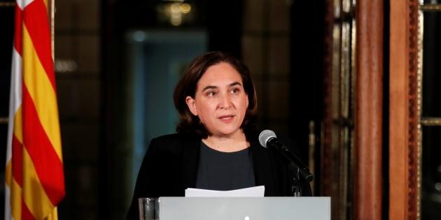 Ada Colau, el pasado 9 de octubre.