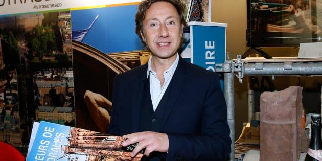 Stéphane Bern au Salon international du patrimoine culturel au Carrousel du Louvre, le 2 novembre à Paris.