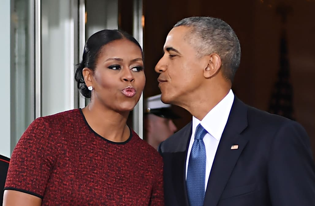 db964d2f Michelle Obama: 'I had never met a black dude like Barack Obama ...