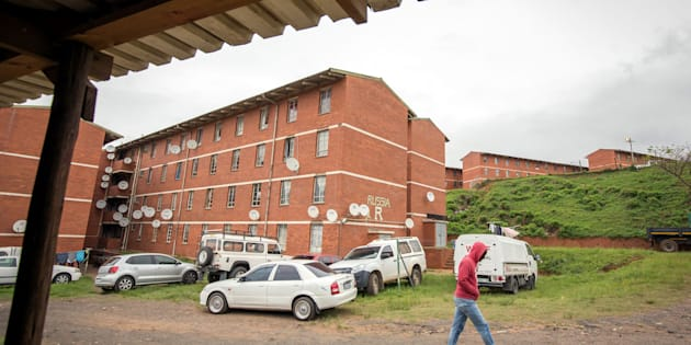 September 23, 2017: The Russia, or R Block, of the Glebelands Hostel – consisting of 71 blocks and about 22,000 residents, and allegedly a haven for hitmen operating throughout the province of KwaZulu-Natal. At least 40 people have been killed in politically motivated shootings in KZN in the past year.