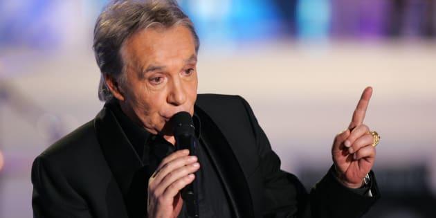Michel Sardou est contre le contre le consentement sexuel à 13 ans et donne un exemple très personnel.
