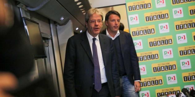 """E Gentiloni si smarca dalla campagna elettorale di Renzi: """"Andiamoci piano su banche e fake news"""". E alza le mani su Boschi"""