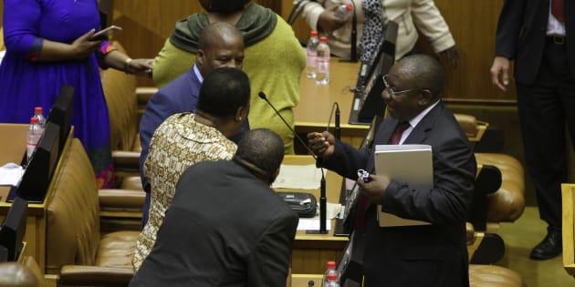 Zuma's Office Denies Claim He Plans to Fire Ramaphosa as Deputy
