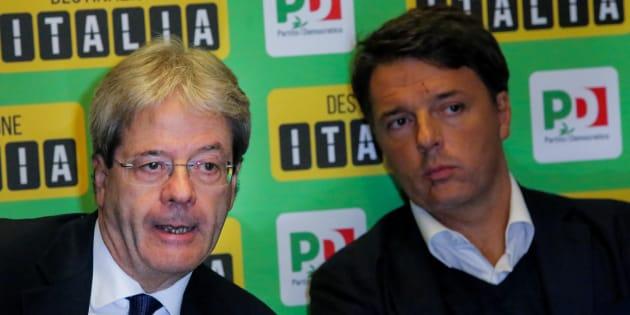 Renzi vuole azzoppare Gentiloni e picchia duro sul bonus bebè
