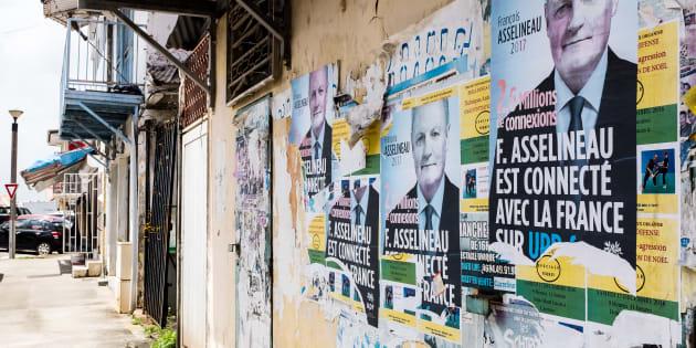 À la fois omniprésente et absente en Guyane, la présidentielle en ligne de mire des manifestants