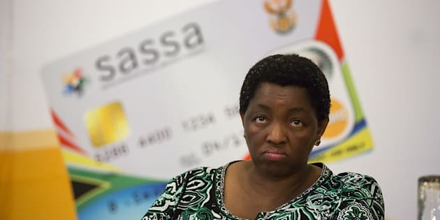 Minister of Social Development, Bathabile Dlamini at the first Sassa Anti-corruption Conference on November 4, 2013 in Centurion, South Africa.