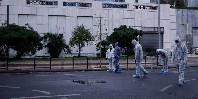 Un engin explose devant un tribunal d'Athènes sans faire de victimes.