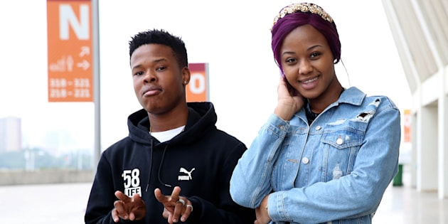 Babes Wodumo and Nasty C.