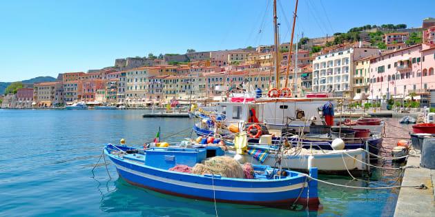 Portoferraio, Isola d'Elba.