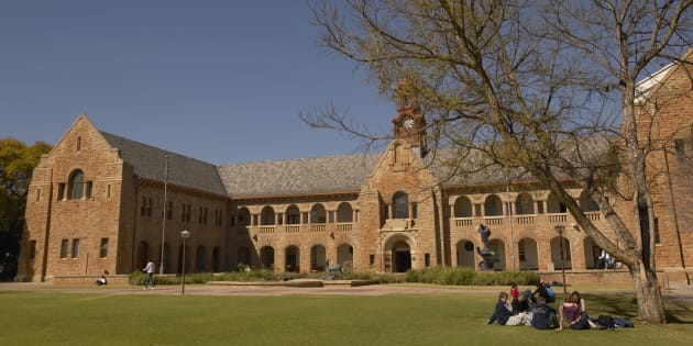 The University of Pretoria.