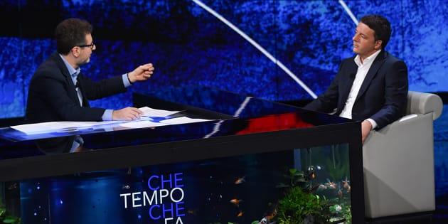 """Matteo Renzi: """"Due volte ho pensato di fondare un parti"""