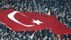 Le match retour Besiktas-OL, une tribune politique contre
