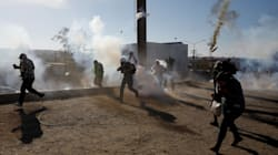 EU justifica uso de gas lacrimógeno: Migrantes lanzaron proyectiles contra la patrulla