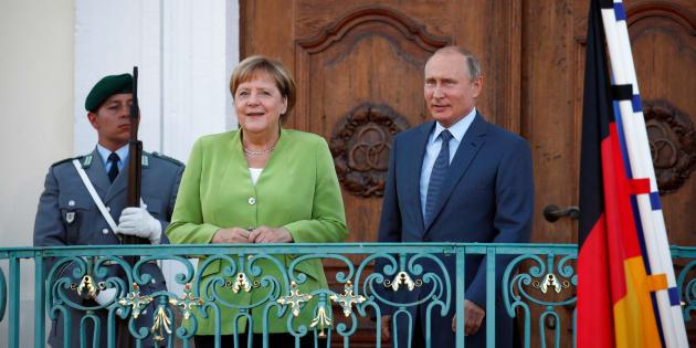 Gas: Putin da Merkel, Nord Stream 2 rafforzerà Europa - Politica
