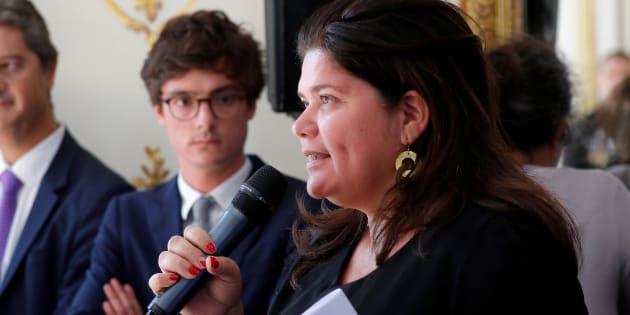 Raquel Garrido assume de ne pas avoir déclarer ses revenus à cause de la présidentielle.