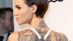 Ruby Rose se débarrasse de ses tatouages pour sa