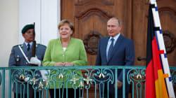 PRE-VERTICE - Putin incontra Merkel: