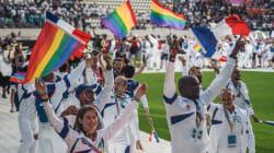 La cérémonie d'ouverture des Gay Games en