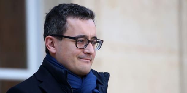 La suppression de la taxe d'habitation sera sans contrepartie, assure Gérald Darmanin (ici quittant l'Élysée le 21 février).
