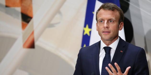 """""""L'Europe n'est pas un menu à la carte"""", lance Macron aux pays qui refusent d'accueillir des migrants"""