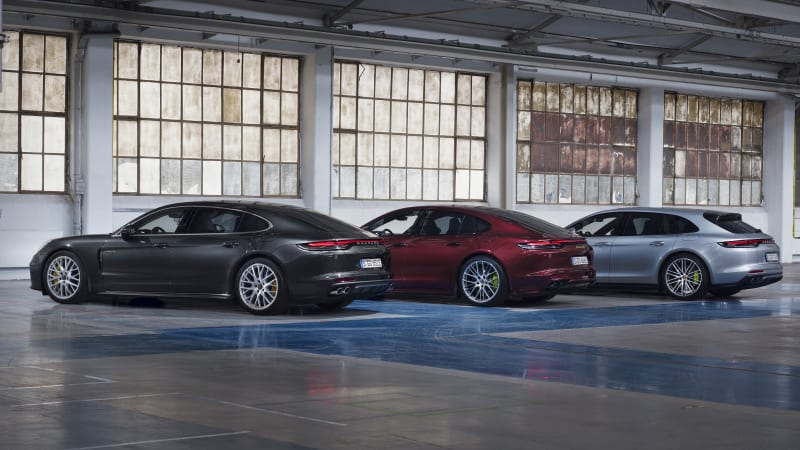 More 2021 Porsche Panamera variants are updated, including top dog Turbo S E-Hybrid