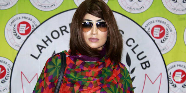 File photo of Qandeel Baloch.