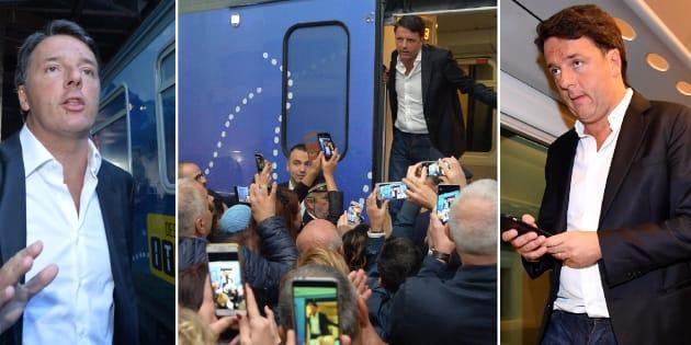 Pd: treno Renzi a Reggio Calabria