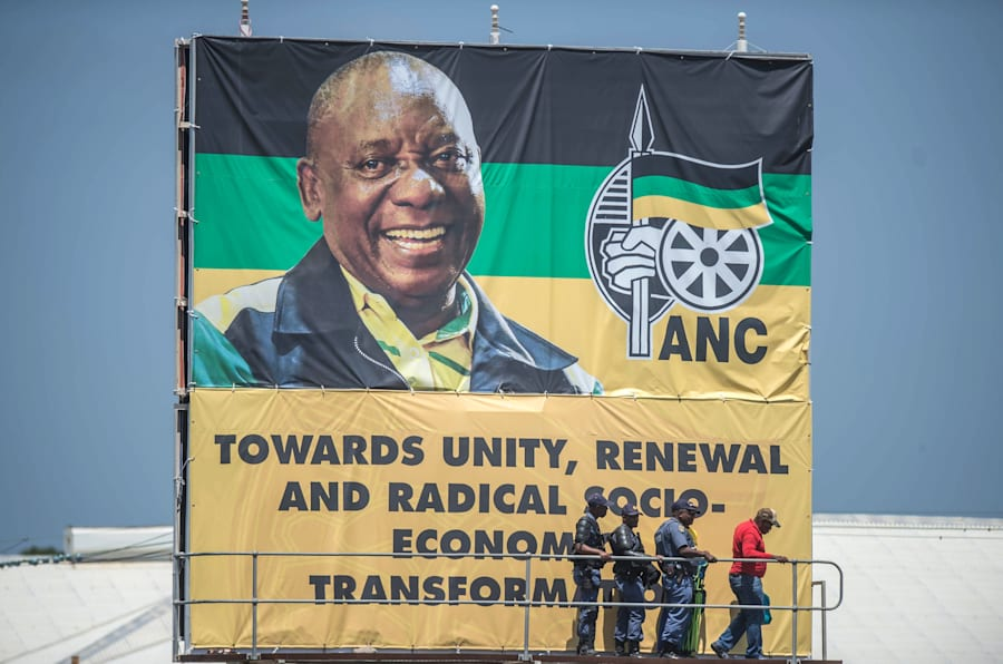 Changing of the guard... Deputy President Cyril Ramaphosa, now the leader of the ANC, has moved quickly to strengthen the new order in the governing party.
