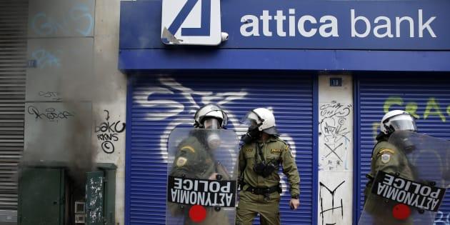 Pourquoi on n'a pas fini d'entendre parler de la dette grecque. REUTERS/Yannis Behrakis