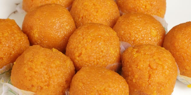 Laddoo - the popular Indian sweet !
