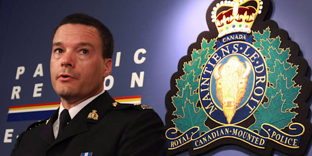 Former RCMP Insp. Tim Shields speaks during a news conference in Vancouver on July 5, 2010.