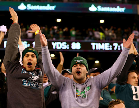 Eagles players, fans mercilessly mock the Vikings
