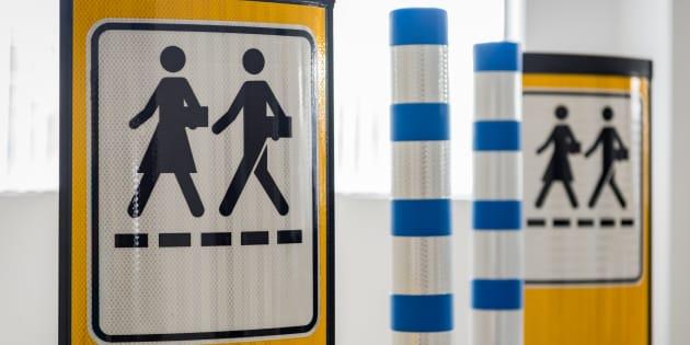 La rue de la Place Publique, à Laval, sera fermée à la circulation du 14 au 16 juillet afin de sensibiliser les automobilistes aux nouvelles mesures d'apaisement de la circulation.
