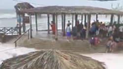 Au Pérou, une houle anormale s'enfonce 50 mètres dans les