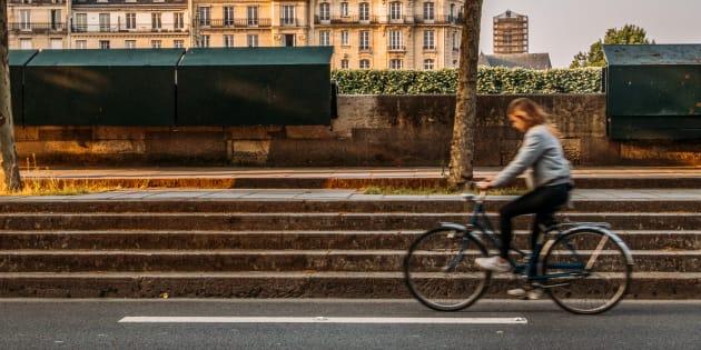 Allez-vous bientôt devoir immatriculer votre vélo? (photo d'illustration prise à Paris)