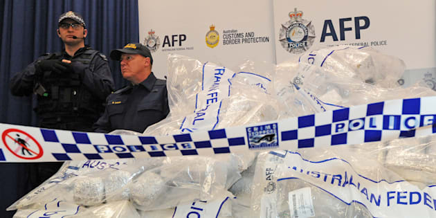 Police made a record number of drug seizures and arrests last year.