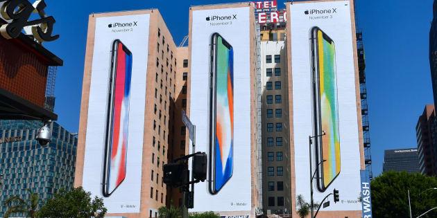 Trop cher nu sur l'Apple Store ? Voici le prix de l'iPhone X avec forfait