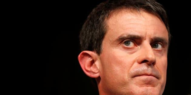 Manuel Valls en meeting à Lievin le 8 janvier 2017
