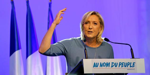 Marine Le Pen à Fréjus, le 18 septembre 2016.
