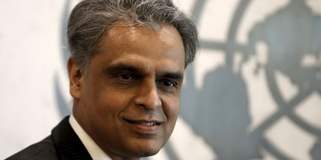 File photo of Syed Akbaruddin, Permanent Representative of India to the United Nations.