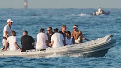 Neymar passe du bon temps à Saint-Tropez, à défaut de pouvoir
