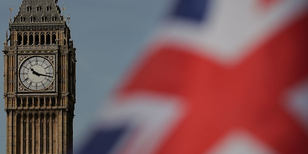 A Union flag flies near the Houses of Parliament, comprising the House of Commons and the House of Lords, in London on March 13, 2017. British Prime Minister Theresa May is expected to trigger Brexit this week by formally notifying the European Union of Britain's intention to leave the bloc, sending her country into uncharted waters. The legislation empowering May to put Britain on a course that no EU member state has ever taken returns to parliament for its final stages on Monday as European capitals prepare for mammoth negotiations. / AFP PHOTO / Daniel LEAL-OLIVAS        (Photo credit should read DANIEL LEAL-OLIVAS/AFP/Getty Images)