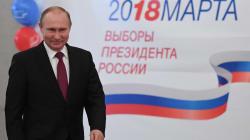 Poutine réélu pour un 4e mandat avec 76,67% des