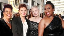 Las activistas que acompañaron a Meryl Streep y otras actrices a los Golden
