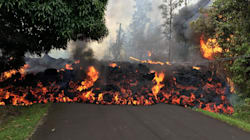 Photos And Videos Capture Hawaii Lava Consuming Car, Destroying