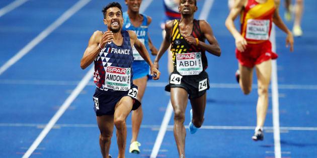 Le Français Morhad Amdouni remporte le 10.000 m après une folle accélération aux Championnats Européens