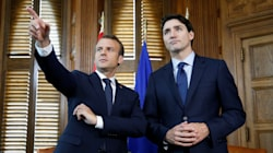 Au G7, Macron n'aura pas peur d'un accord à 6 face aux