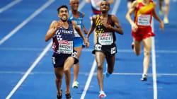Le Français Morhad Amdouni remporte le 10.000 m après une folle