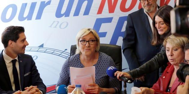 Le Front national suspend la sénatrice qui comparait les migrants aux nazis